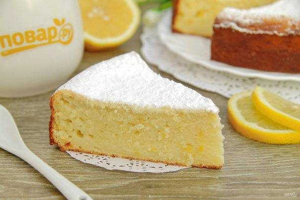 Лимонная запеканка
