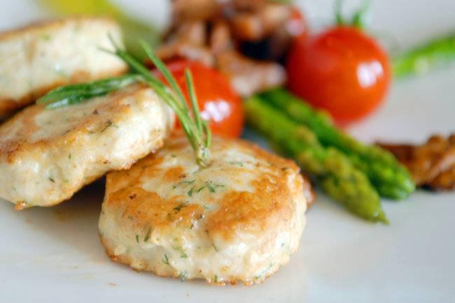 Куриные фрикадельки - пошаговый рецепт с фото    блюда из курицы