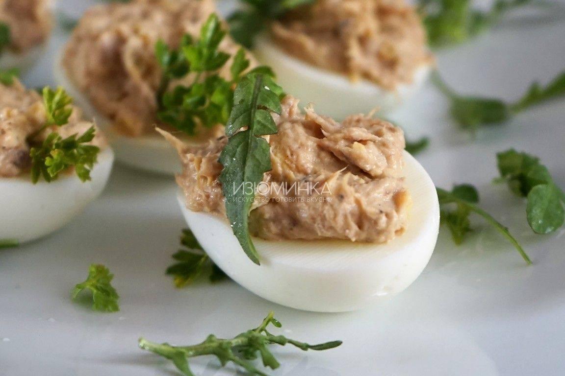 Закуска с тунцом: пошаговый рецепт с фото
