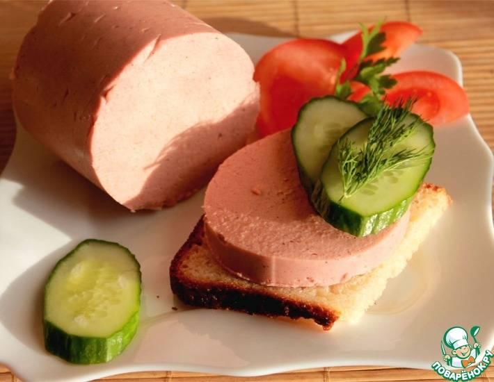 Колбаса домашняя свиная маложирная