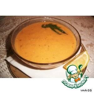 Рецепт супа-пюре из чечевицы с паприкой
