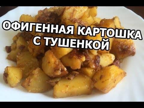 Картошка с тушенкой в мультиварке: пошаговый рецепт с фото   готовим в мультиварках