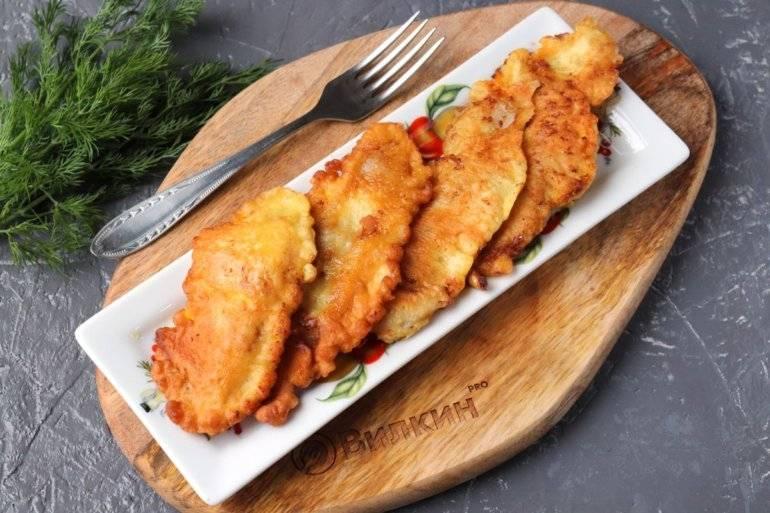 Рыбное филе в кляре