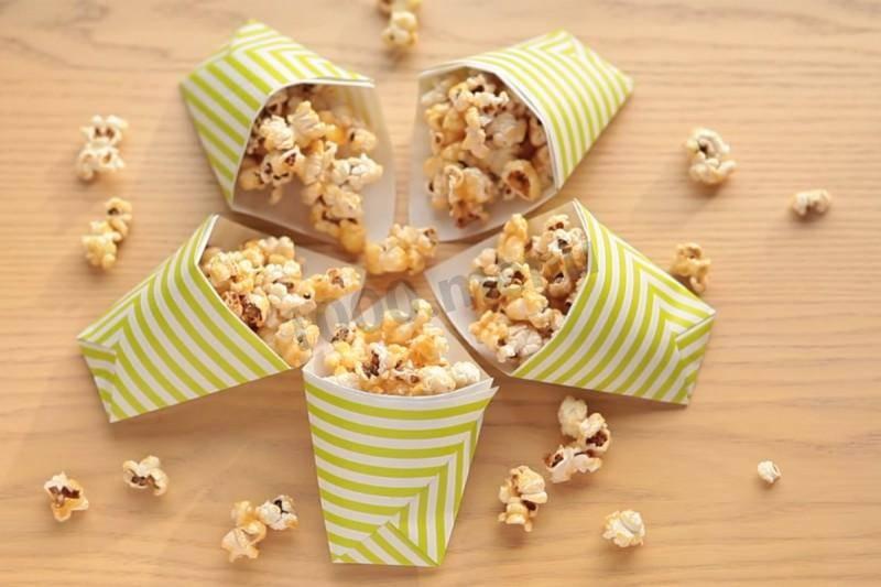 Как правильно сделать воздушный попкорн в духовке