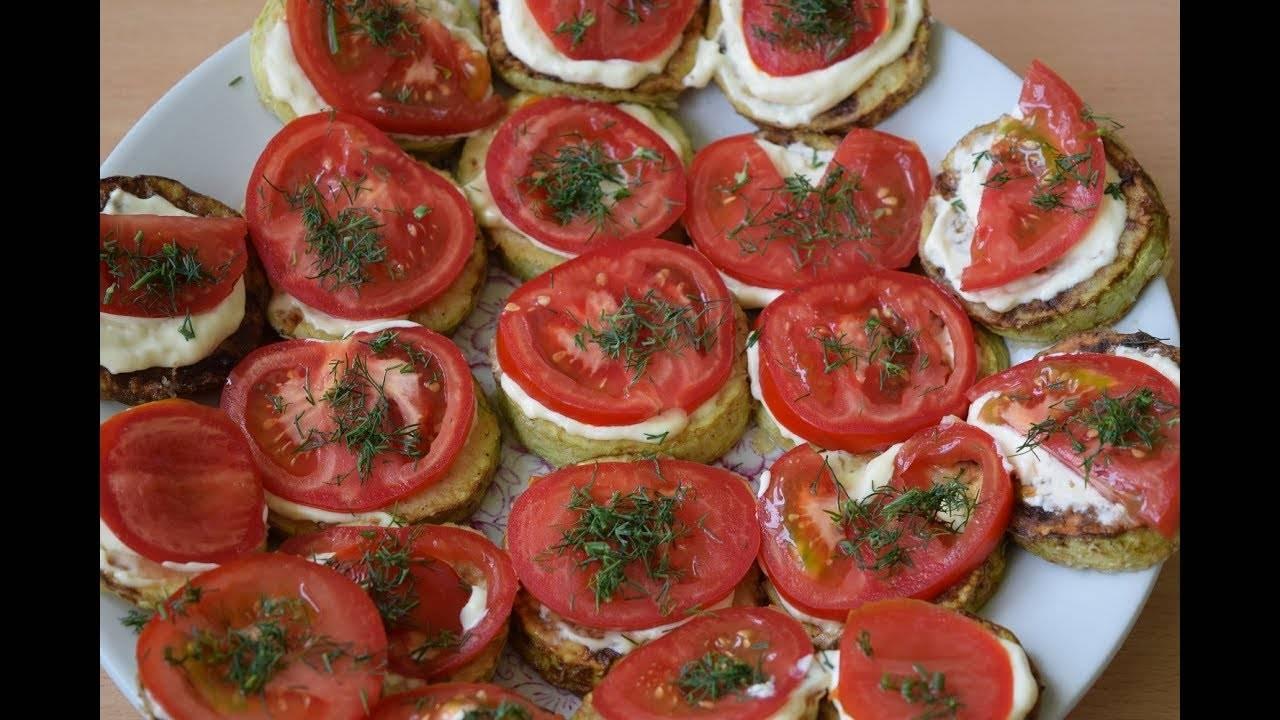 Тушеные кабачки с помидорами — ешь хоть каждый день