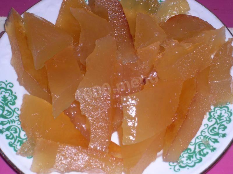 Яблочное варенье-мармелад