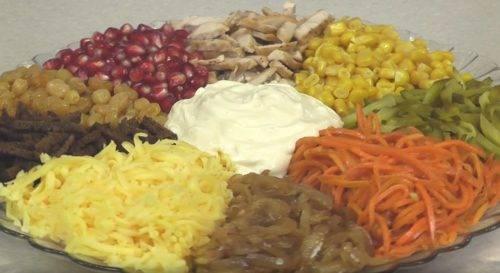 Салаты без майонеза на праздничный стол — очень вкусные рецепты