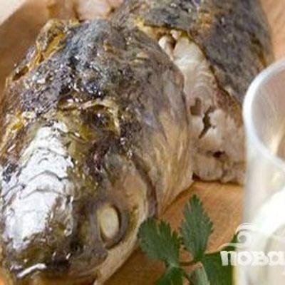 Вкусная запеченная кефаль в духовке в сухарях — рецепт сочной, ароматной, с хрустящей корочкой рыбы