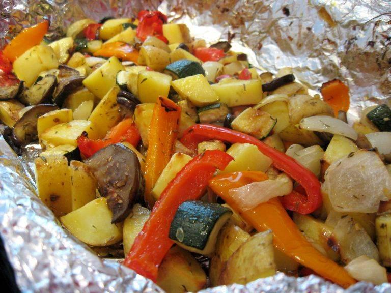 Запеченные овощи в духовке: рецепты с фото