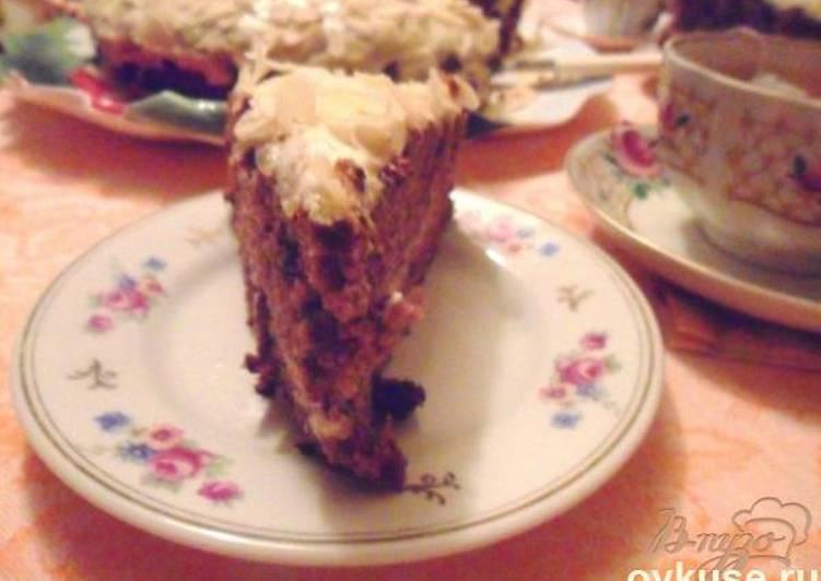 """Торт""""негр в пене"""")))) - запись пользователя женюша (john8am) в сообществе кулинарное сообщество в категории печенья, пирожные, торты, пончики, кексы - babyblog.ru"""