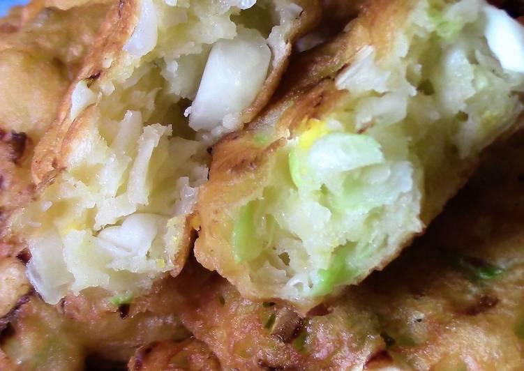Ленивые пирожки с картошкой ️