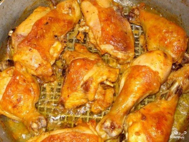 Куриные ножки в кефире в духовке
