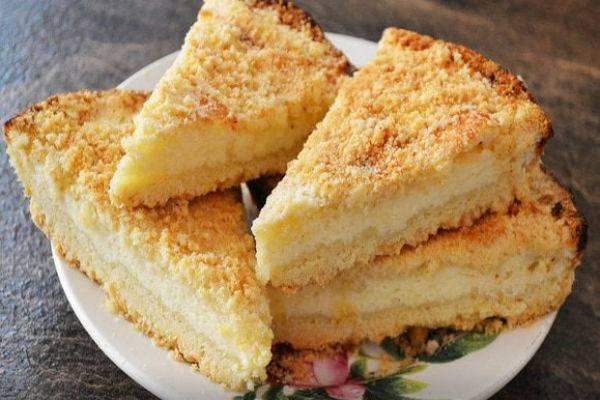 Восхитительный творожный пирог (пошаговый рецепт с фото)