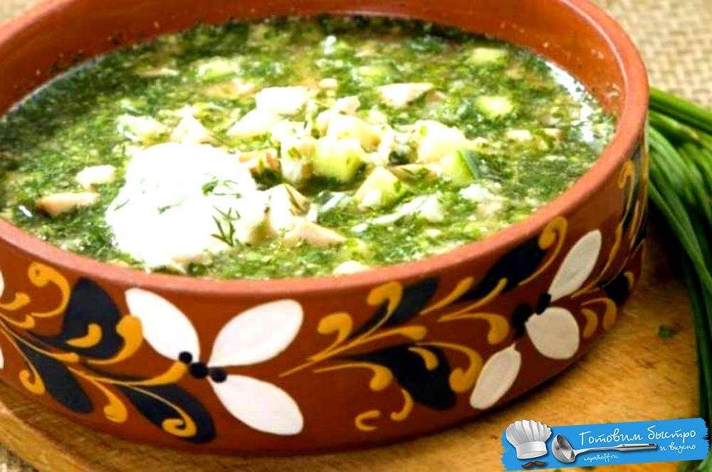 Сезонное меню: холодные супы в ресторанах петербурга