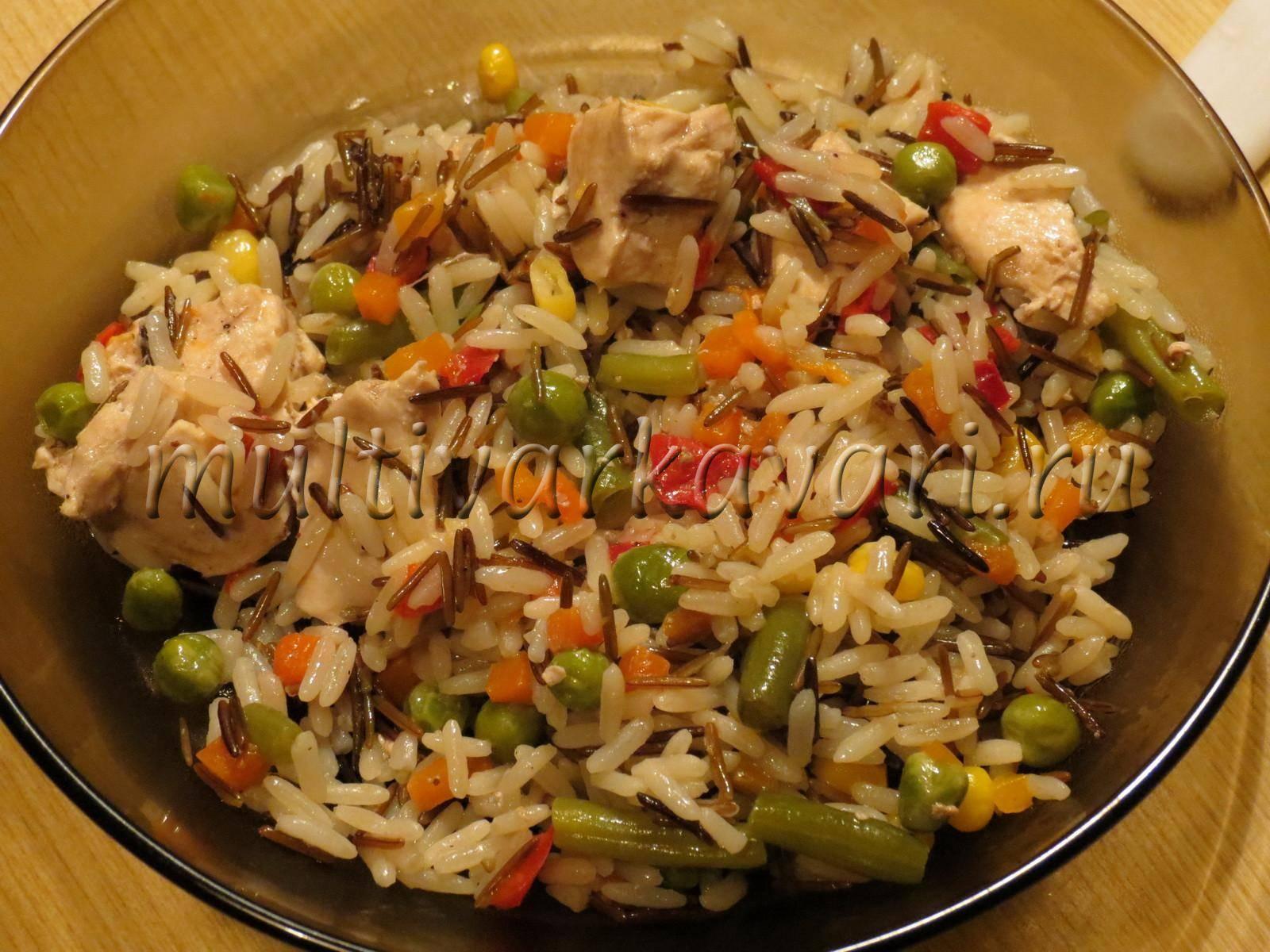 Рассыпчатый рис в мультиварке рецепт с фото