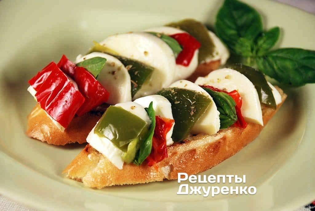 10 простых рецептов итальянской брускетты