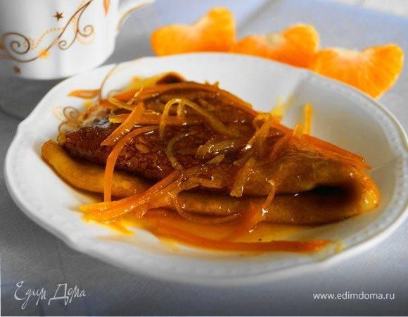 Блинчики креп сюзетт с апельсинами - рецепт с фотографиями - patee. рецепты