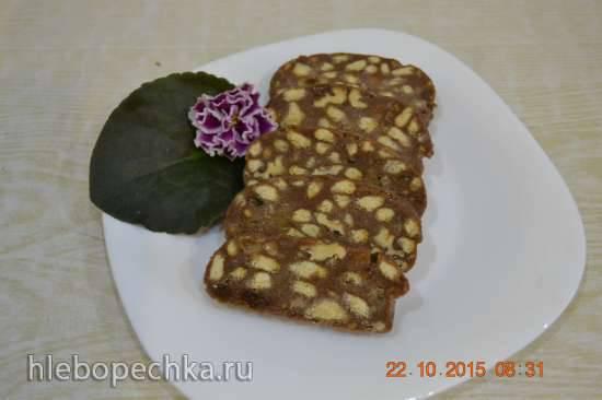 Рецепты шоколадной колбасы
