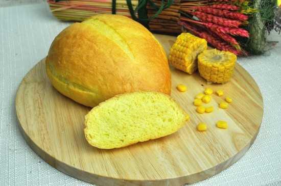 Кукурузный хлеб на опаре