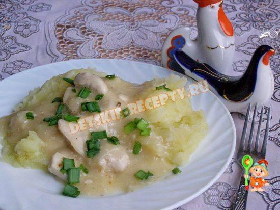 Подлива из курицы - пошаговый рецепт с фото на повар.ру