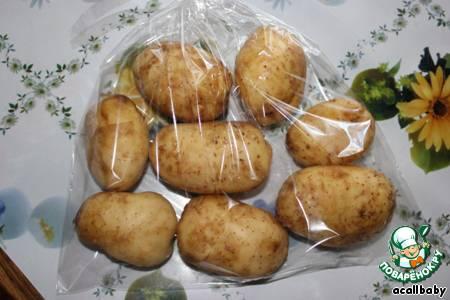 Как приготовить простую и вкусную картошку в микроволновке в пакете