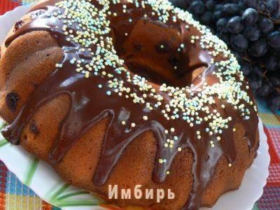 """Виноградный кекс """"простой"""""""