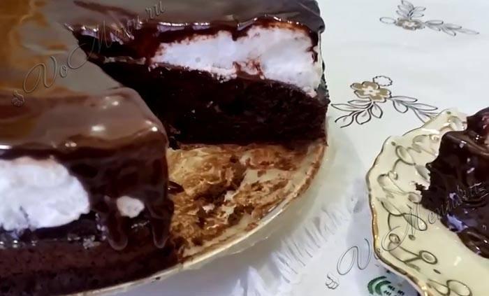 Как приготовить торт «негр в пене» в домашних условиях