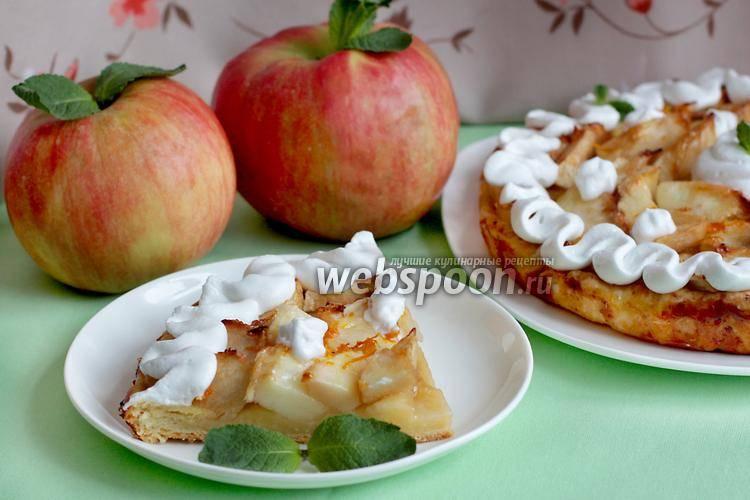 Крамбл — вкуснейший рецепт с яблоками и корицей
