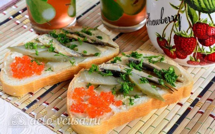 Бутерброды со шпротами — 13 разновидностей