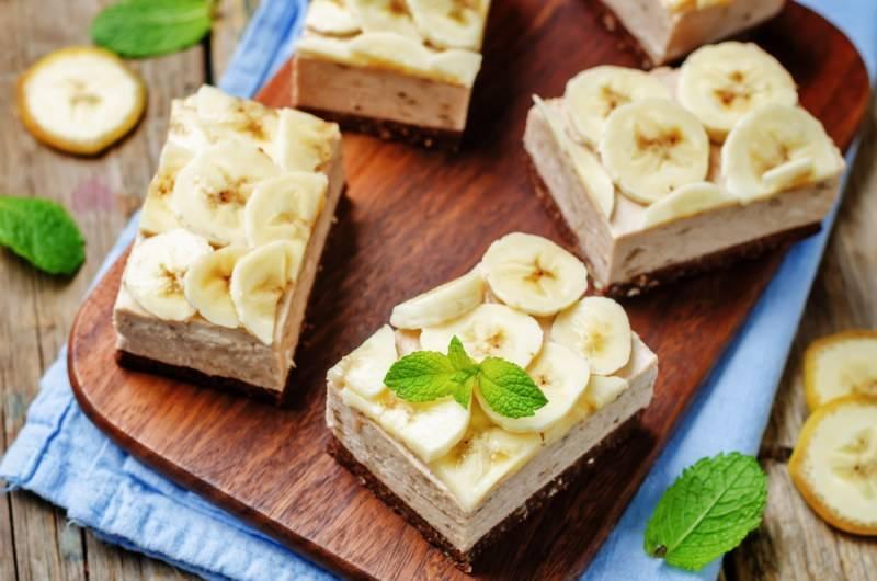 Десерт из бананов по-тайски