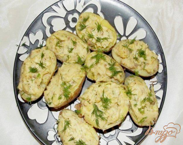 Рецепты картофельные лодочки