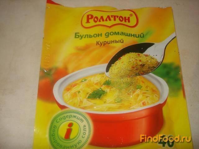 Суп с яйцами и картошкой с вермишелью
