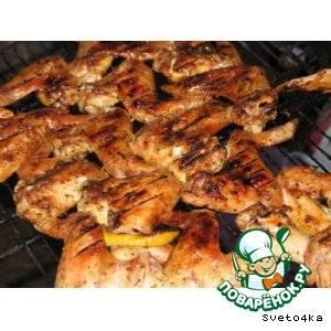 Куриные крылышки гриль. очень просто и вкусно. рецепт с фото. | domblago