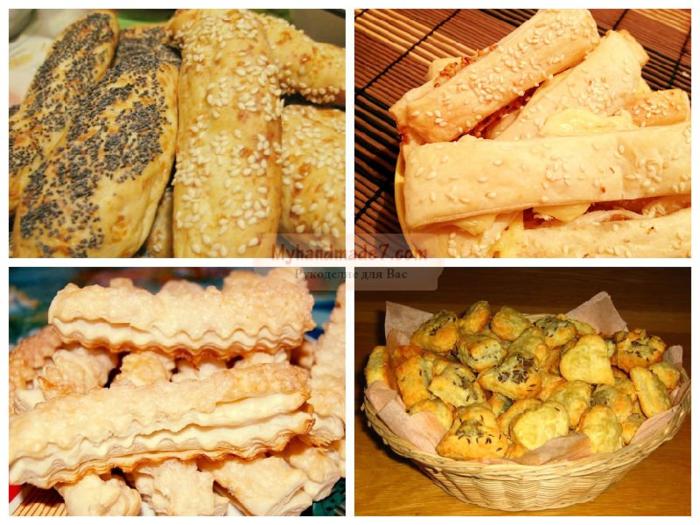 Тесто слоеное дрожжевое - рецепты