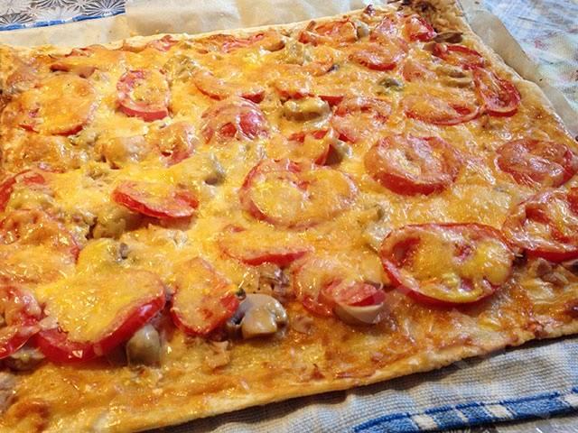 Тесто для пиццы бездрожжевое — 9 рецептов приготовления в домашних условиях