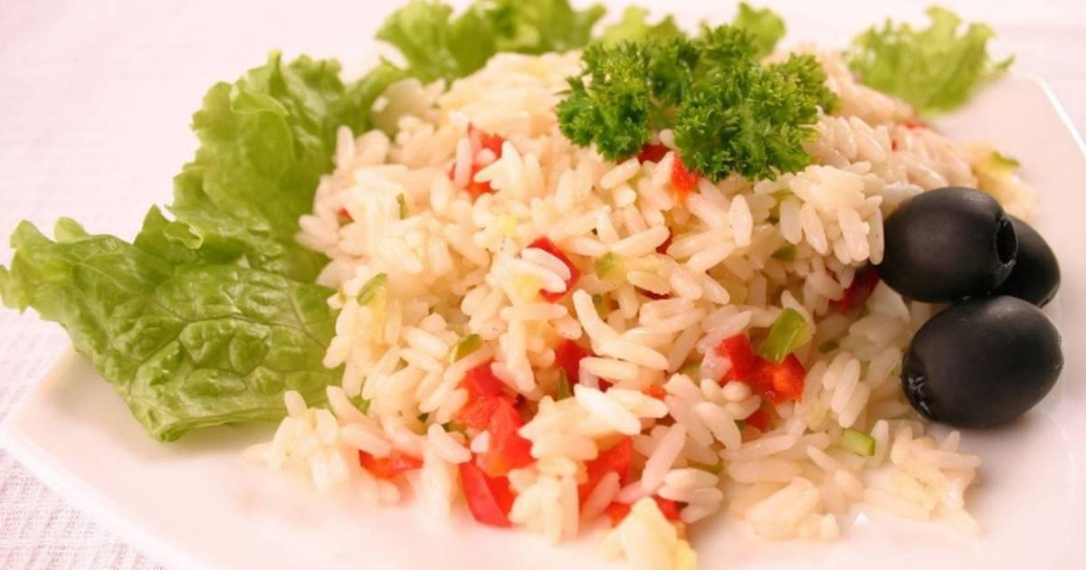 Рыба с рисом в пароварке