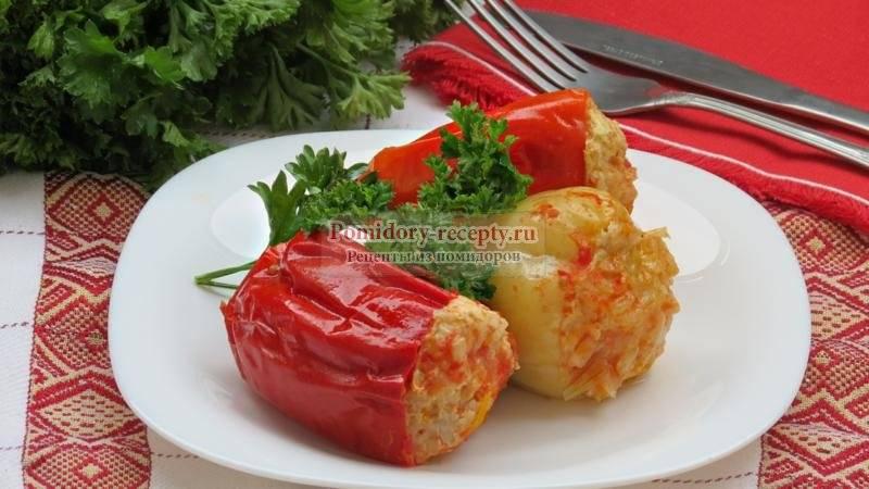 Фаршированные перцы в мультиварке: пошаговый рецепт с фото, праздничные рецепты