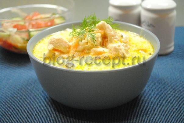 Подлива из курицы с овощами