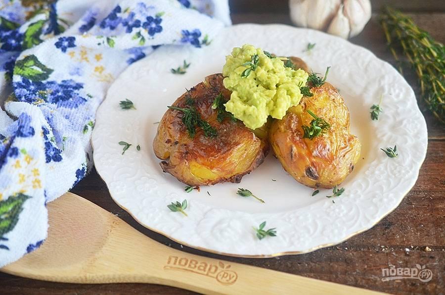 """Картошка в духовке """"Авокадо"""""""