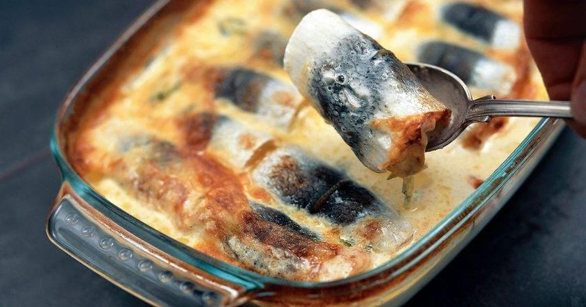 Рецепт финская запеканка калалаатикко из сельди с картофелем в молоке