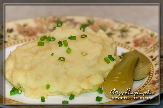 Картофельное пюре — лучшие рецепты. как правильно и вкусно приготовить картофельное пюре.