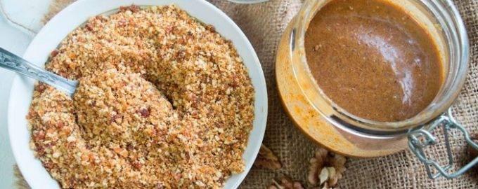 Ореховая паста пралине