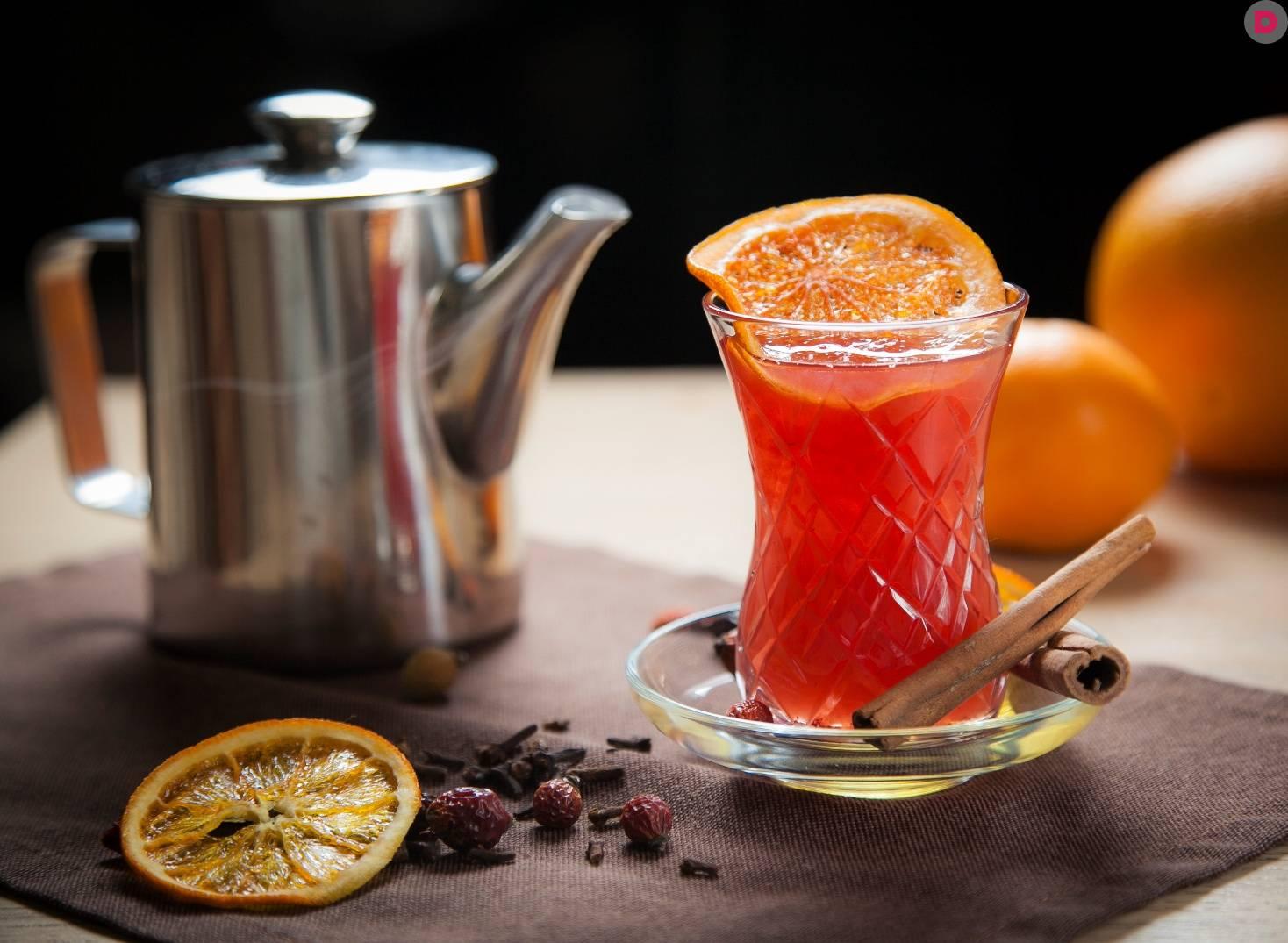 Клюквенный чай: рецепт с фото пошагово. как заварить чай с клюквой?