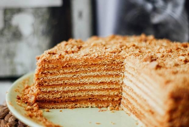 «медовик» - самый простой рецепт очень вкусного торта для любого праздника!