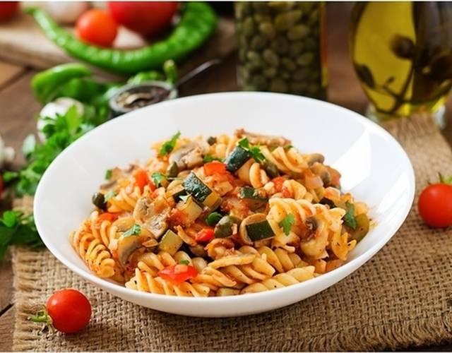 Паста с овощами — пенне с соусом из молодых овощей - рецепты джуренко