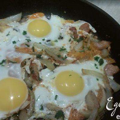 Вкусный, быстрый, диетический завтрак для всей семьи: омлет со стручковой фасолью
