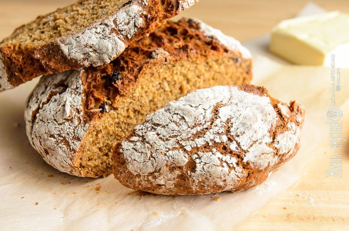 Ирландский содовый хлеб (irish soda bread)