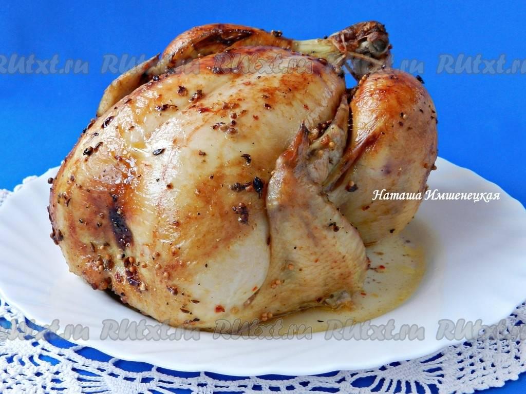 Как приготовить самую вкусную курицу в рукаве целиком