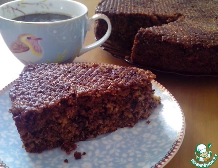 Кофейно-шоколадный кекс