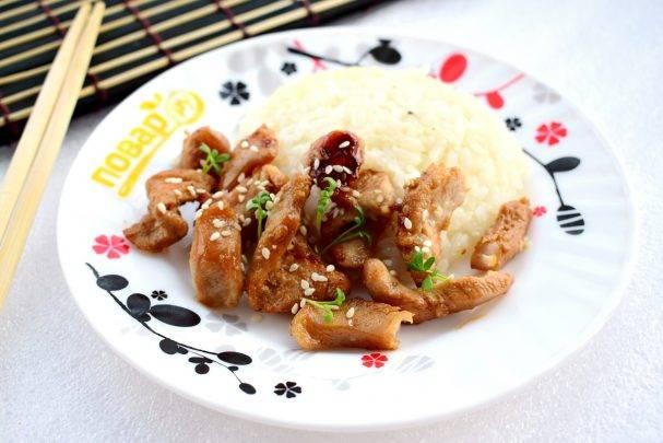 Куриное филе в соевом соусе с медом